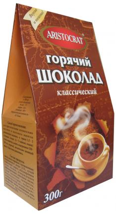 Горячий шоколад Aristocrat классический 300 г