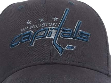 Бейсболка Atributika&Club NHL Washington Capitals 28143 синяя