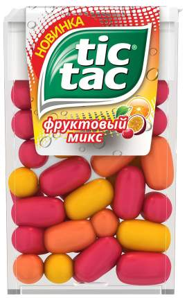 Драже Tic-Tac фруктовый микс 16 г