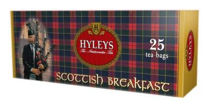 Чай черный Hyleys шотландский завтрак 25 пакетиков