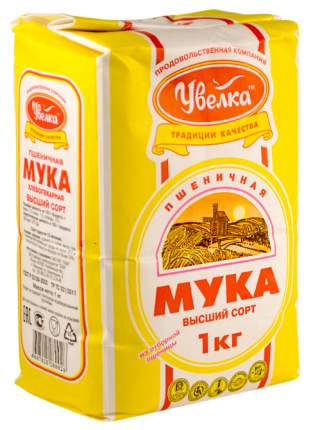 Мука пшеничная Увелка в/с 1 кг