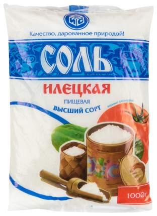 Соль илецкая Руссоль в/с поваренная пищевая молотая 1 кг