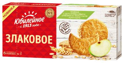 Печенье Юбилейное с цельнозер злак и яблоч кусоч 171 г