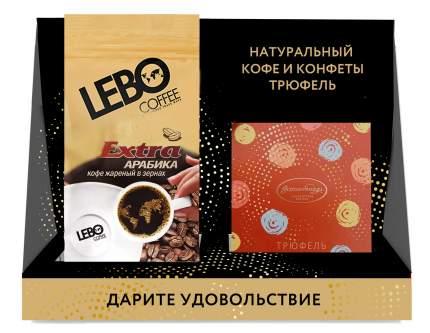 Набор кофе в зернах Lebo Extra м/у 250 г и конфеты Truffe трюфель
