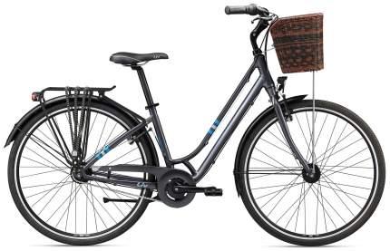 """Женский велосипед Giant Flourish 1 (2020) размер рамы 16"""" Серый"""