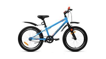 Детский велосипед Forward Unit 20 1.0 (2020) размер колеса 20 Синий