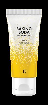 Скраб для лица J:ON BAKING SODA СОДОВЫЙ Baking Soda Gentle Pore Scrub, 50 гр