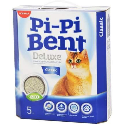 Комкующийся наполнитель для кошек Pi-Pi Bent Classic бентонитовый, 5 кг, 10 л