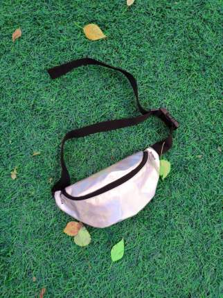 Поясная сумка унисекс FUTTUR SP-003 серебристая