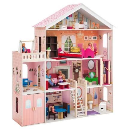 Дом кукольный Paremo Мечта розовый PD316-02