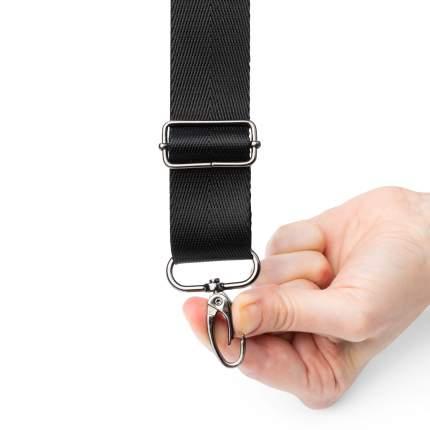 Плечевой ремень Handy Bendy, черный, черный никель