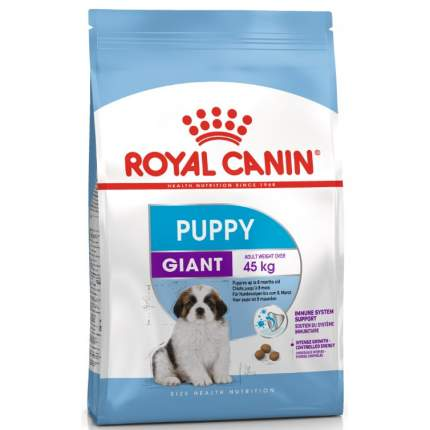 Сухой корм для щенков ROYAL CANIN Puppy Giant, птица, 15кг