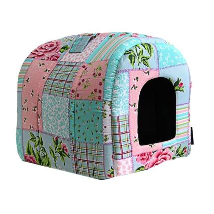 Домик для кошек и собак DOGMAN Тоннель средний (бязь), в ассортименте, 40x35x30см