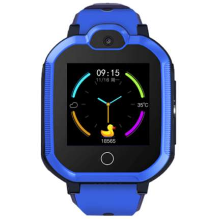 Смарт-часы Smart Baby Watch Tiroki Q900 4G Blue
