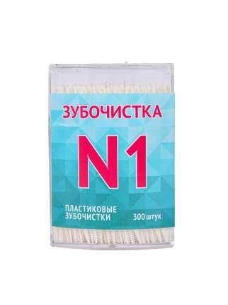 Пластиковые зубочистки QUALITA, 300 шт.
