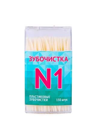Пластиковые зубочистки QUALITA, 150 шт.