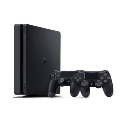 Игровая приставка Sony PlayStation 4 1TB + DualShock 4  v2 + 5 игр