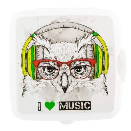 Ланч-бокс ElfPlast Bento, I love music