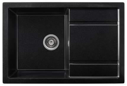 Мойка для кухни гранитная Gerhans В27-25 оникс