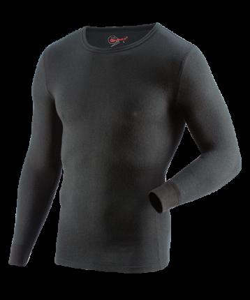 Рубашка с дл. рукавом GUAHOO Everyday Heavy 21-0400 S-BK (L)