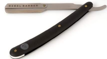 Бритва шаветт со сменными лезвиями Rebel Barber Professional Shavette Matt