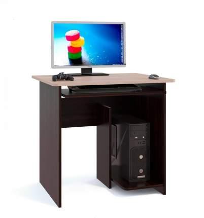 Компьютерный стол СОКОЛ КСТ-21.1, венге/дуб беленый