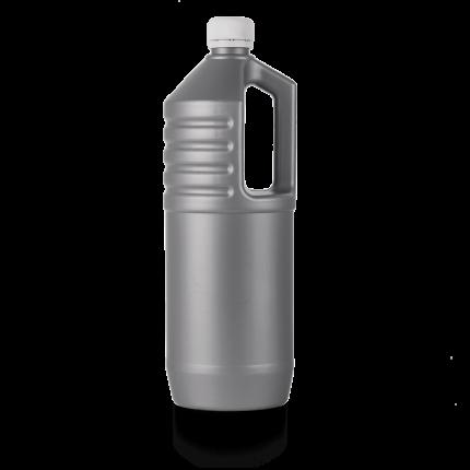 Ёмкость пластиковая  серая 1л.
