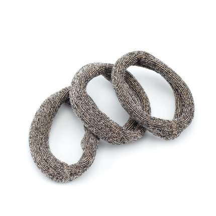 Резинки для волос Dewal Beauty цветные, широкая лента, midi (4 шт.) DBR80