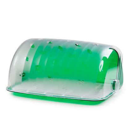 "Хлебница ""Santi"", зеленая полупрозрачная"