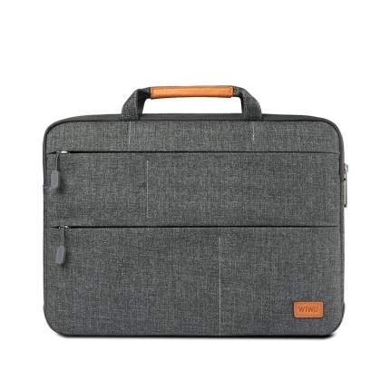 "Сумка для ноутбука WIWU Smart Standart Sleeve 15.4"" для Macbook Pro серый"