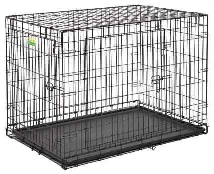 Клетка для собак Midwest Contour 71x107x79см, 2 двери