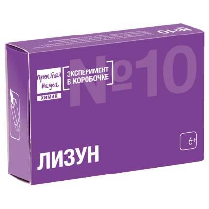 Набор для опытов Простая Наука Эксперимент в коробочке Лизун exbox-0310