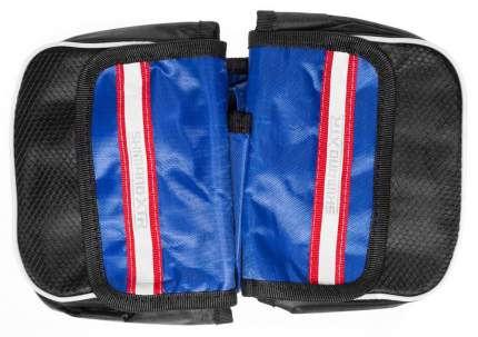 Двойная велосипедная сумка на раму 150-120-40 мм (Синий)
