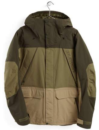 Куртка Burton Breach Jk, S INT, frstnt/mrtini/kelp