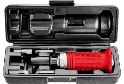 Отвёртка ударно-поворотная в наборе с битами,ЗУБР 6 ШТ.,2565