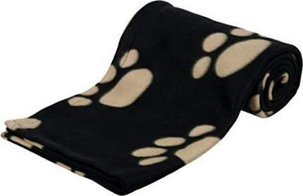 Одеяло для собак TRIXIE Barney флис, черный, 150x100 см