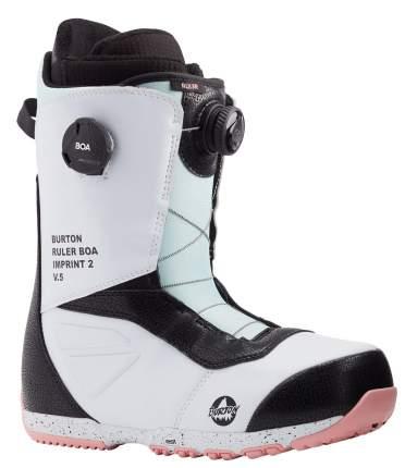 Ботинки Для Сноуборда Burton 2020-21 Ruler Boa White/Black/Multi (Us:11), 2020-21