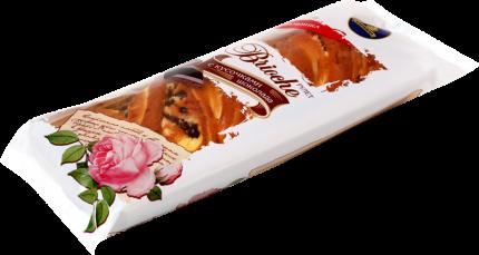 Рулет Каравай Бриошь с кусочками шоколада 200 г