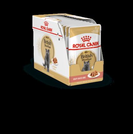 Влажный корм для кошек ROYAL CANIN British Shorthair, 12шт, 85г