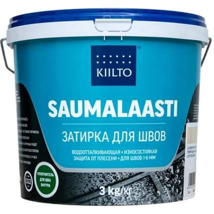 Затирка цементная для швов плитки КIILTO SAUMALAASTI №11, цвет: природно-белая