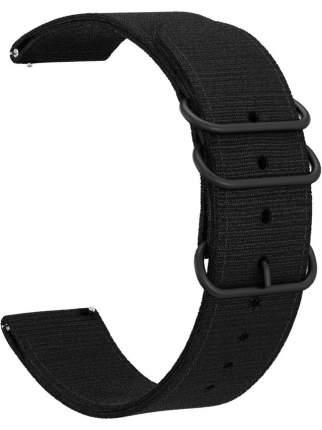 Ремешок GSMIN Dim 22 для Samsung Gear S3 Frontier/Classic/Galaxy Watch (46 mm) Black