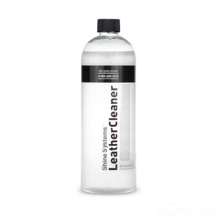 LeatherCleaner - деликатный очиститель кожи, 750 мл Shine Systems SS833