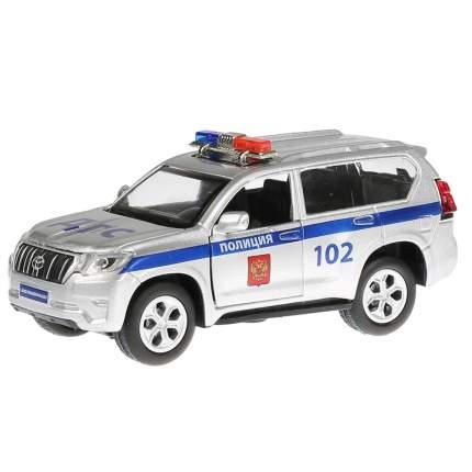 Машинка Технопарк свет-звук Toyota Prado Полиция, 12 см., открываются двери,