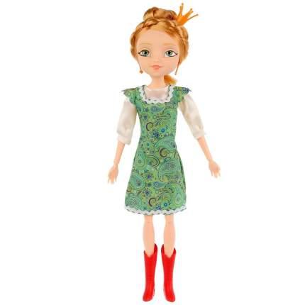 Интерактивная кукла Карапуз Царевны Василиса Царевна-лягушка, 29 см,15 фраз и песен из м/ф