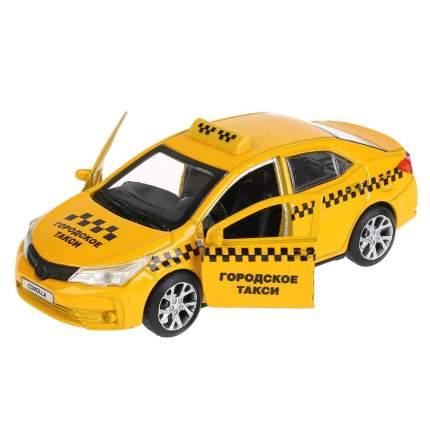 Такси металлическое инерционное Технопарк Toyota Corolla, 12 см