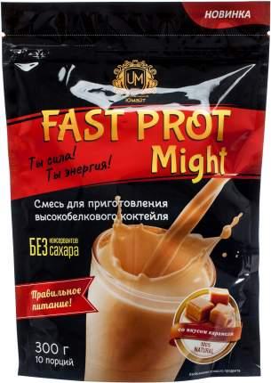 "Протеиновый коктейль ""Fast Prot Might"" со вкусом карамели, 300г"