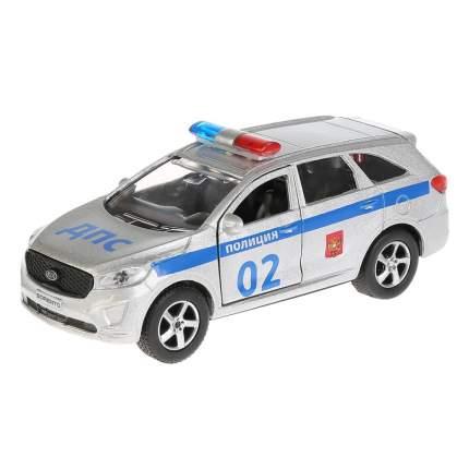 Технопарк Металлическая инерционная модель – Kia Sorento Prime Полиция, 12 см