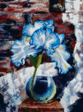 Алмазная мозайка Color Kit без подрамника Ирис лофт 30х40