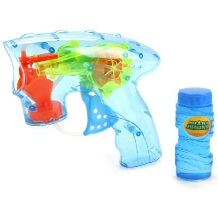 Пистолет для пускания мыльных пузырей Играем вместе Ми-ми-мишки