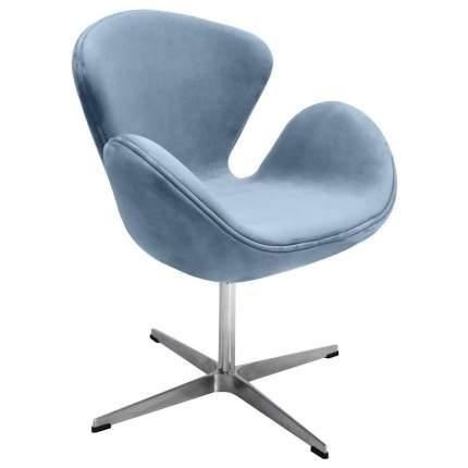 Кресло Bradex Home SWAN CHAIR серый, искусственная замша /FR 0654